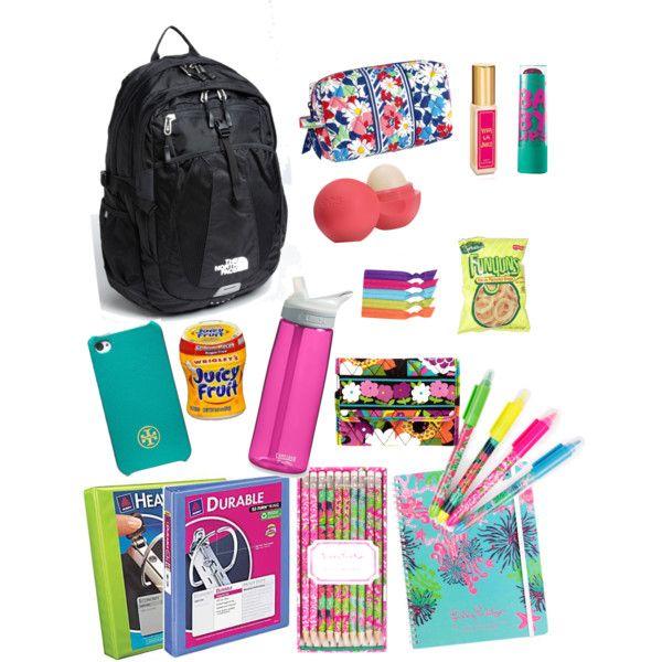 cute school supplies!