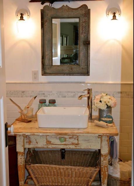 34 best Repurposed Bathroom Vanity images on Pinterest Room