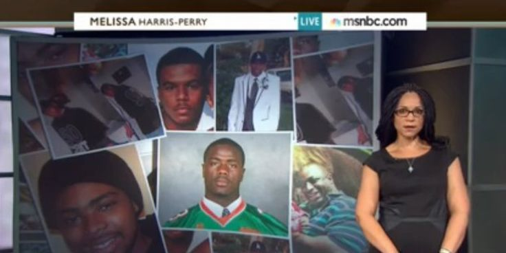 Melissa Harris-Perry's Searing Tribute To Black Men Killed By Police The Huffington Post | By Jack Mirkinson Posted: 08/16/2014