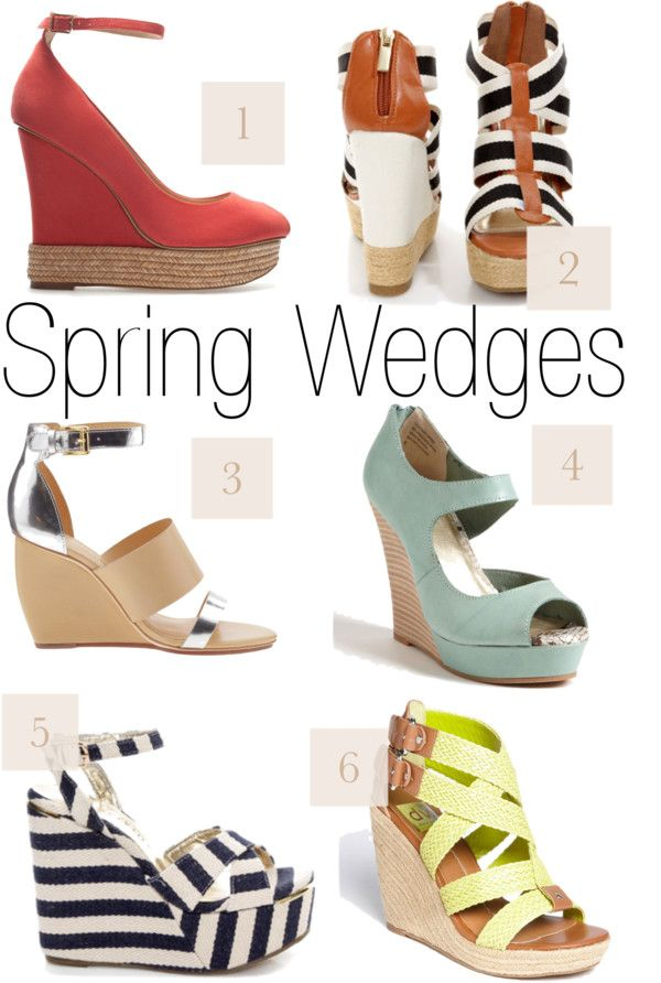 Spring Wedges :)