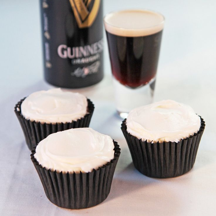 Guinness Cupcakes Recipe   BakingMad.com