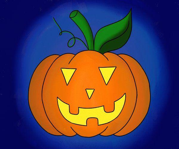 Cum se deseneaza un Dovleac pentru Halloween