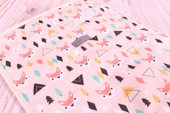 Love this fabric Gorgeous Universal Pram/Stroller Liner/Protector!   - Foxes    Nice extra soft cushion for your little one to sit/sleep on as well as protecting your stroller/pram