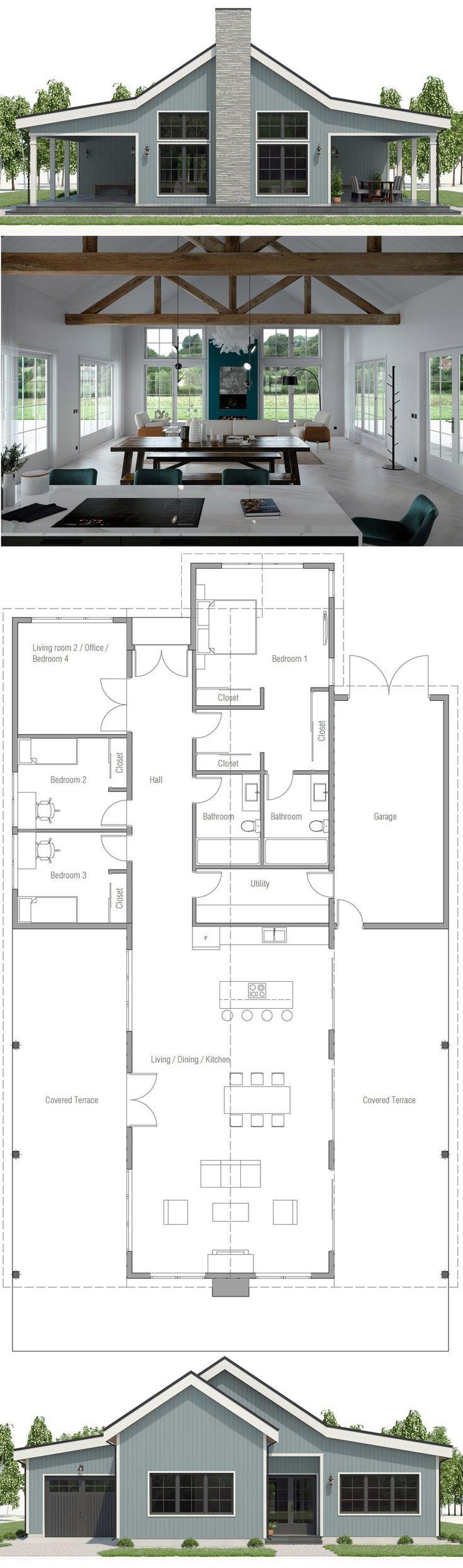 Home Plan, House Plan, Floor Plan, #architecture #…