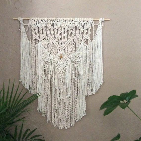 Large Macrame Wall Hanging Tapestry Woven Wall Hanging Wall Art Fiber Art Boho…