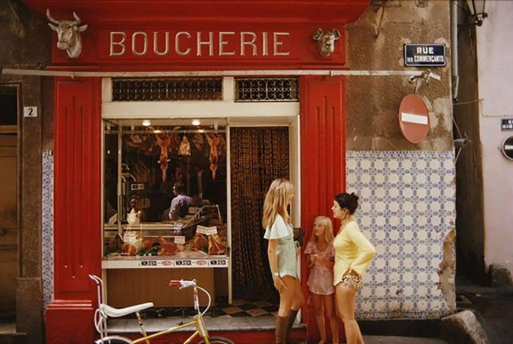 Saint-Tropez Boucherie (Slim Aarons Estate Edition, Shipping Complimentary) | From a unique collection of landscape photography at https://www.1stdibs.com/art/photography/landscape-photography/