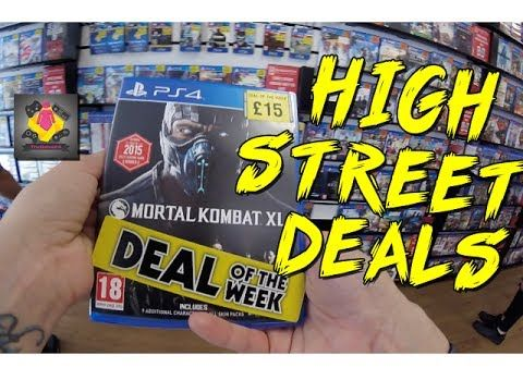 Super Cheap PS4 and Xbox One Games 2017 | Video Game Hunting | GoPro | T...