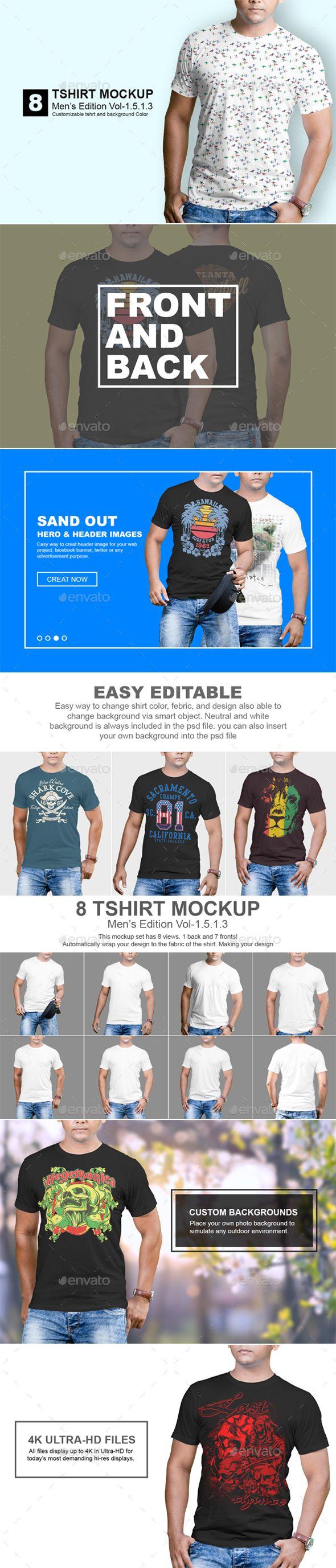 Tshirt Mockup Mens Edition #Tshirt #Fash…