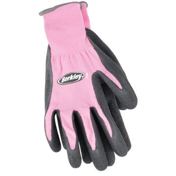 Yay!  Pink fishing gloves! .... all I need now is a pink pocket knife