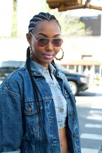 How To Style Braids, Twists And Cornrows For Black Women | Gurl.com