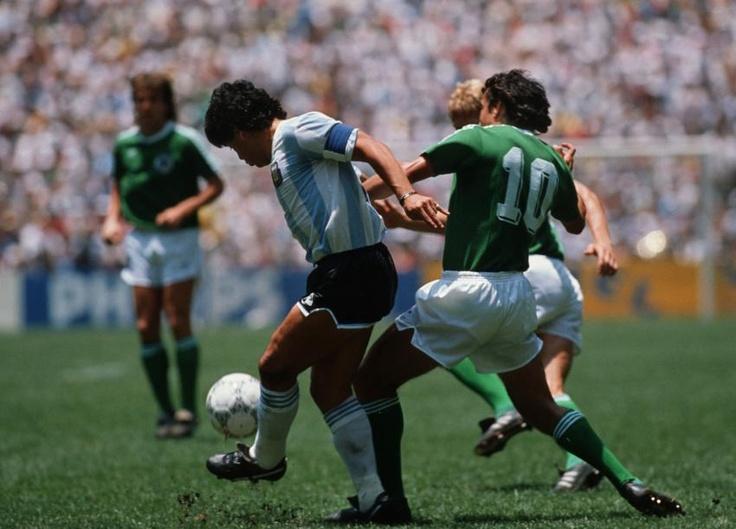 Maradona und Magath