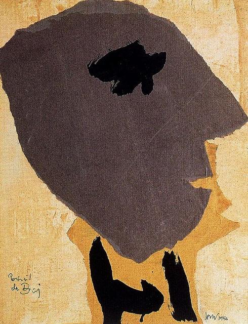 Jorn Asger, (1914-1973) - 1954 Portrait of the Painter Enrico Baj (Private Collection)