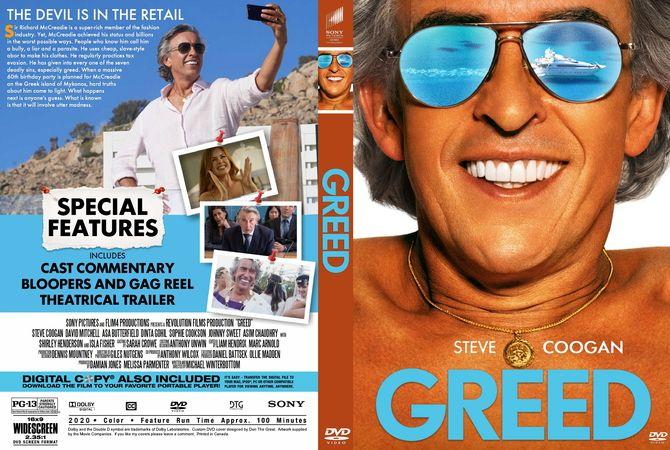 Greed 2020 In 2020 Dvd Cover Design Custom Dvd Dvd Covers