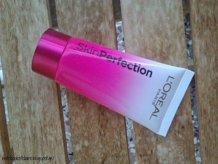 L'oreal Skin Perfection BB Cream ~ Review http://notebookofclaire.blogspot.gr/2014/04/loreal-skin-perfection-bb-cream-review.html