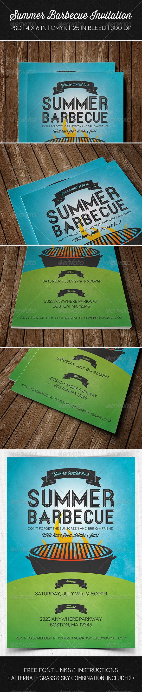 best images about invites vintage invitations summer barbecue invitation flyer