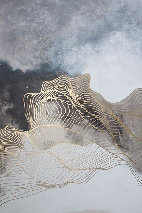 """Read More """"Liminal Moment – Bobbette Rose – Encaustic Monotype on Paper. These are paintings done directly on a heated plate with pigmented wax. Paper is laid on top and the image is offset onto the paper, similar to a typical monotype but no press. She does sveral thin layers, each time laying the paper …"""
