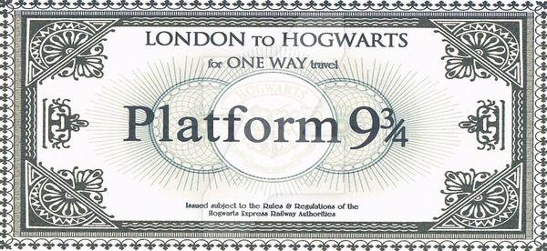 Hogwarts Train Ticket By Toridadeatheater Hogwarts Train Hogwarts Harry Potter Party