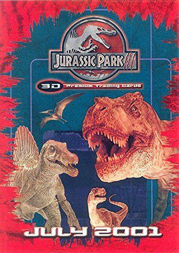JURASSIC PARK PARK 3 2001 INKWORKS PROMO CARD JP3D-1 @ niftywarehouse.com #NiftyWarehouse #JurassicPark #Jurassic #Dinosaurs #Film #Dinosaur #Movies