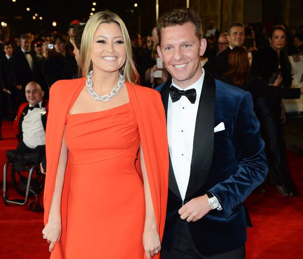 Australian singer and actress, Holly Valance and her British property developer husband Nick Candy...