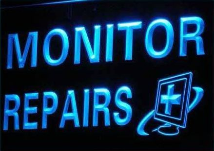 Monitor Repairs Computer Parts neon Light Sign