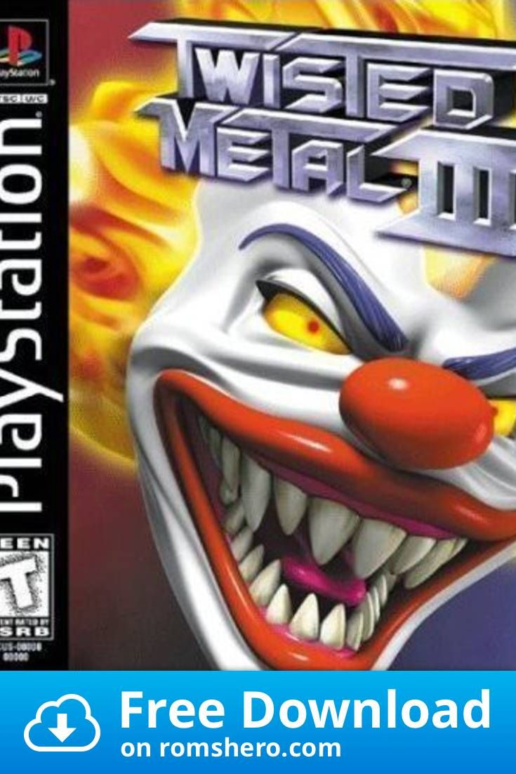 Download Twisted Metal 3 Scus 94249 Playstation Psx Ps1 Isos
