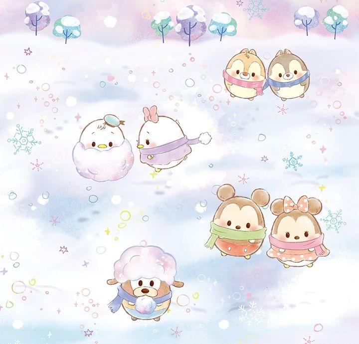 Ufufy Winter Inside Page Cute Disney Drawings Disney Ufufy Disney Friends