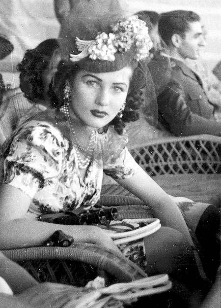 Queen Fawzia and Sha Mohammad Reza