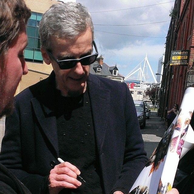 Peter Capaldi in Cardiff, Wales in June 2014.
