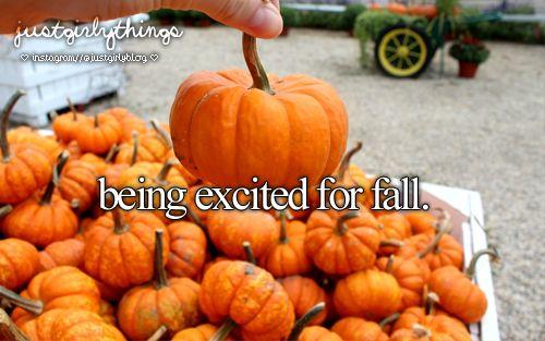 Just girly things fall