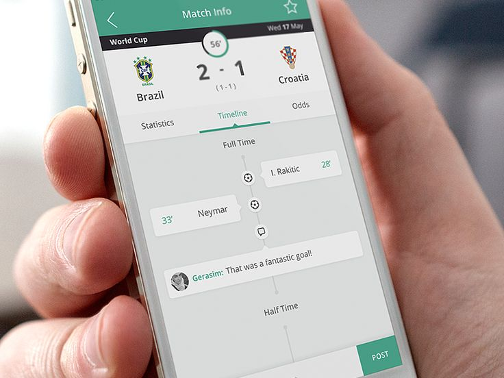 Hey guys!  Here is a shot from Betcrunch - an iOS football betting app.  See the project in more details on Behance: https://www.behance.net/gallery/18171049/Betcrunch-iOS-app  Hope you like it!  B...