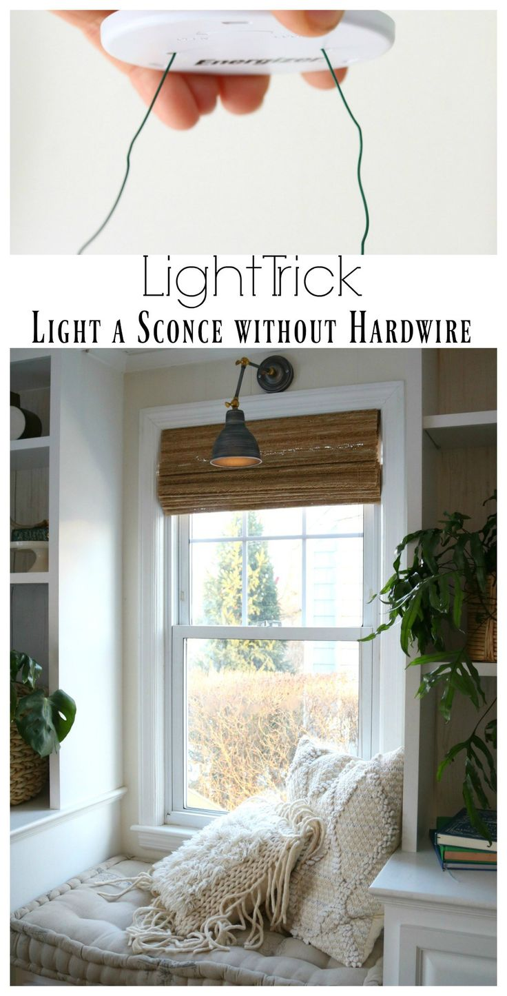DIY Sconces to have Light without Power
