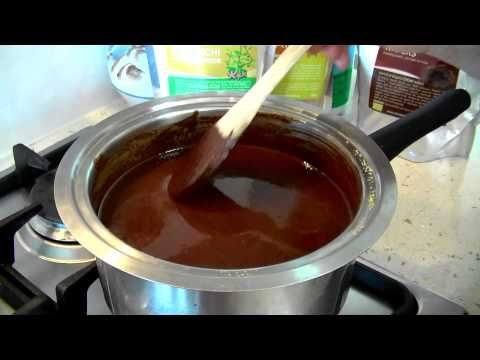 Making Healthy Chocolate with Cyndi O'Meara with my cocao wafer you can buy!