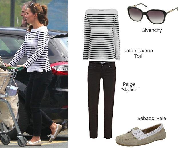Kate Middleton shopping style