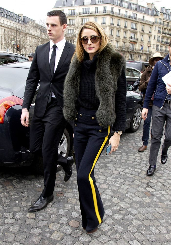 044a2c920e The Accessory That Pulls Together Olivia Palermo s Look. Olivia Palermo s  wearing westward leaning Flower 32 Matte Sand Tortoise.