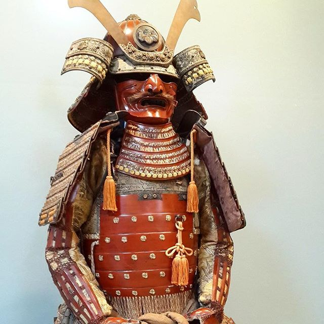 The beautiful yoroi in Seibukan Honbu Dojo - Nagoya, Japan  // A Seibukan Honbu Dojoban található csodaszép yoroi - Nagoya, Japan  #szegedbudokan #martialarts #academy #szeged #budokan #harcművészet #armour #samurai #spirit #warrior #yoroi #japan #japanese #soldier #protection #edo #history #art #defense #war #fight #nagoya #seibukan #honbu #dojo #mylife #lovewhatyoudo