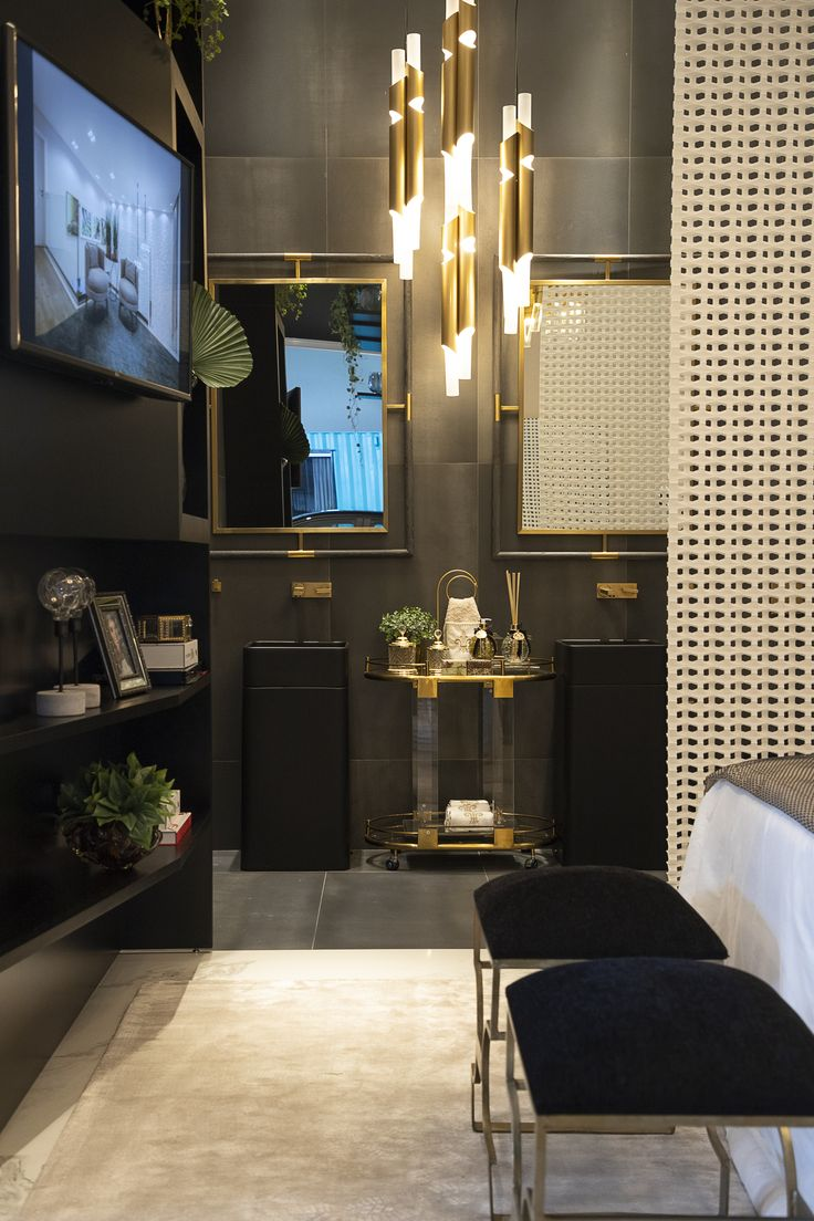 Steel Black Modern Industrial Style In 2019 Tiles
