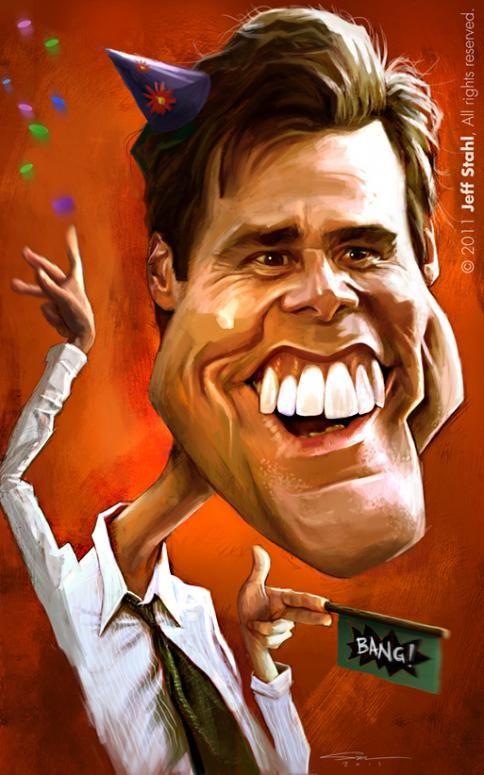 Jeff Stahl: Jim Carrey.