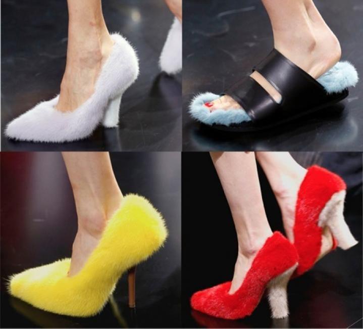 Celine Mink shoes 2013  Ummmm No.....