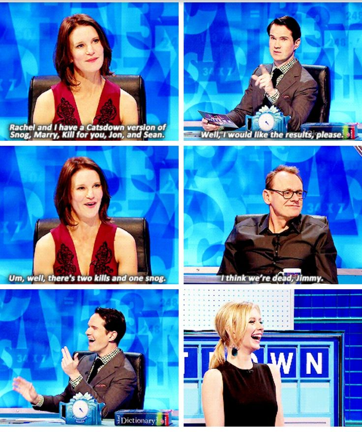 8 out of 10 cats does countdown, Jimmy Carr, Sean Lock, Susie Dent, Rachel Riley