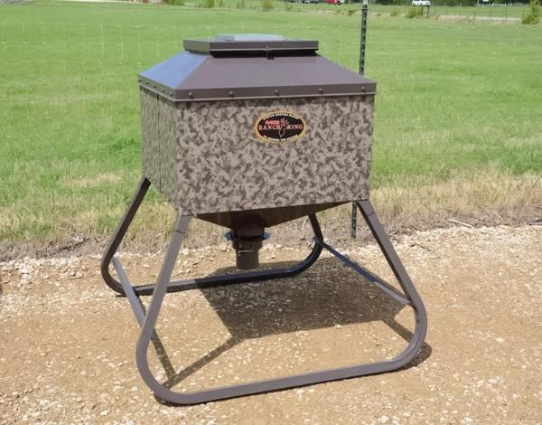 Hb Time Release Feeders Hunting Deer Feeders Pond King Pond King Inc