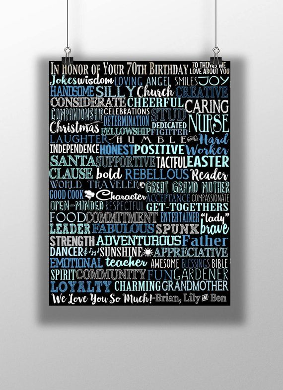 70 Years Old 70th Birthday Party Decor Ideas Gift For Her Him Celebration Young Back In 1949