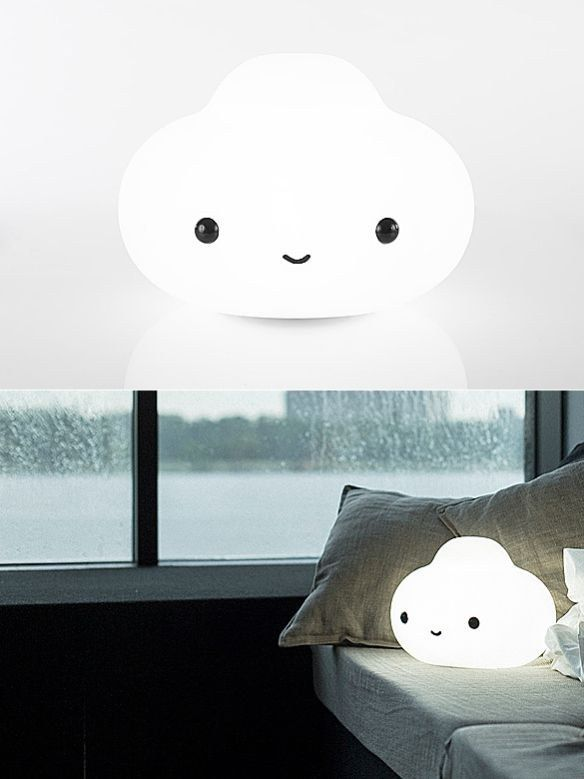 This little cloud lamp. | 31 Fluffy Things That'll Restore Your Faith In Winter