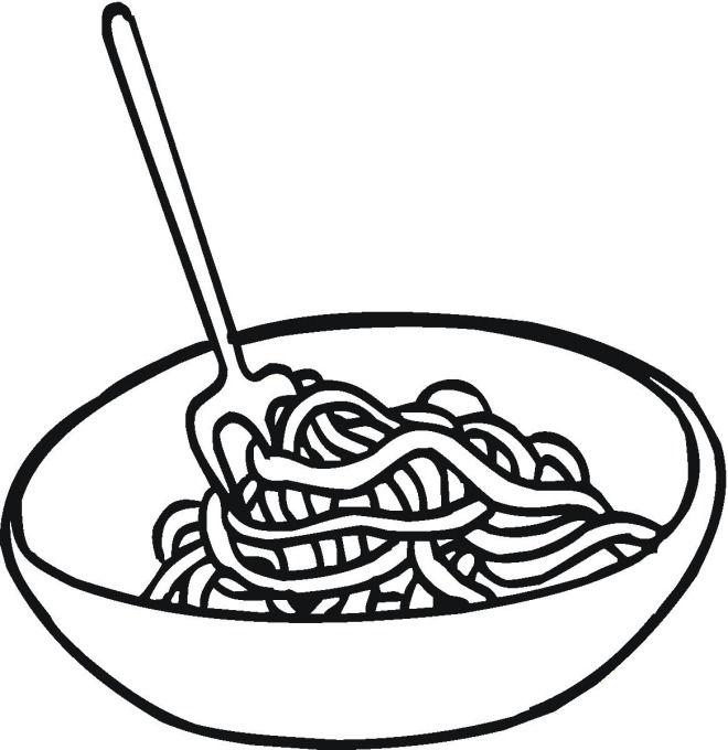 macaroni clipart black and white  Clipground