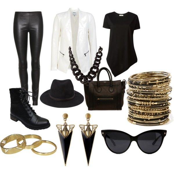 """""""Black & White"""" by ericanicole-1 on Polyvore"""