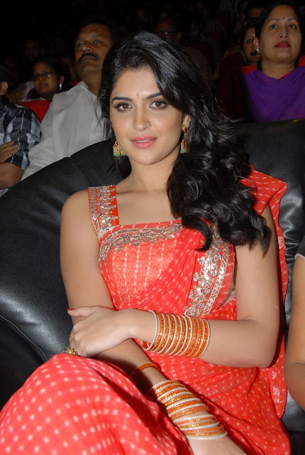 Deeksha Seth Spicy Babe in Red Saree Stunning Beauty Must See HQ Pics   Bollywood News Reviews Trailers Clebrities Movies Music Photo Galleries