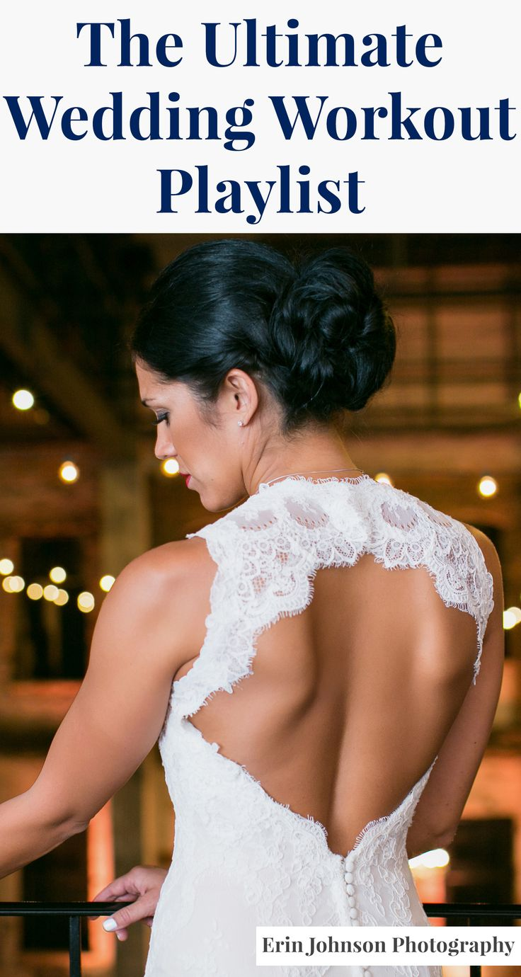 The wedding workout playlist every bride needs! Plus helpful tips to get you motivated.
