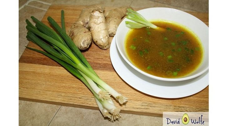 Fibromyalgia Symptom ReliefSoup Recipe  Ingredients  1 tbsp coconut oil 2 tbsp powdered ginger 2 tbsp powdered turmeric 4 cups sodium-free veggie broth 2 stalks of scallions Instructions  1. At the stovetop, add coconut oil and