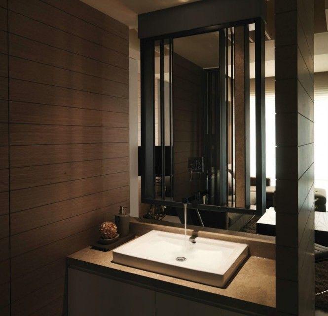 Modern Semi-Minimilist Design: Washbasin