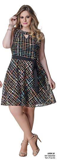 moda plus size - Evaíse alto verão 2015