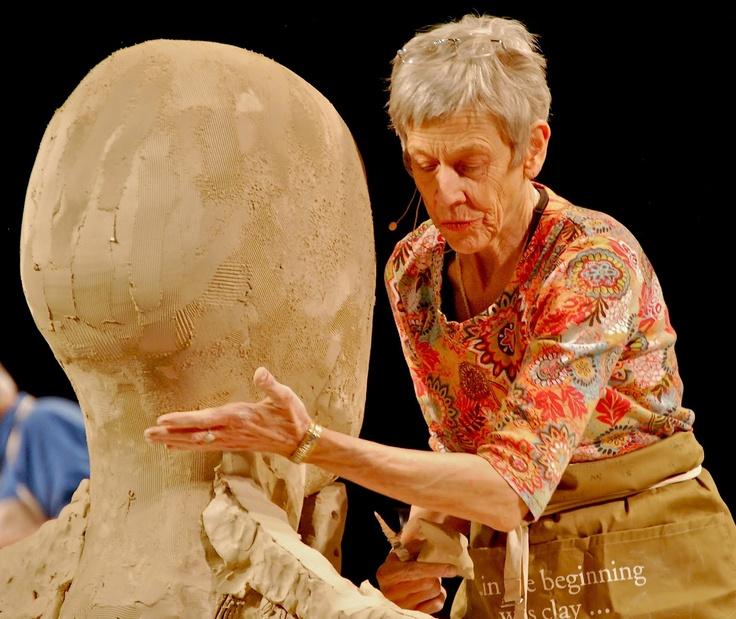 Tip Toland Ceramic Sculpter I Saw Her Sculpt In Seattle